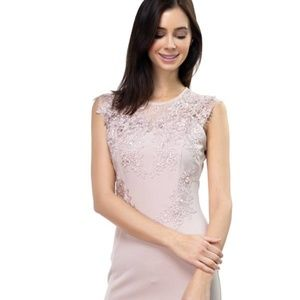 Lace embroidered ruffle Dress!!